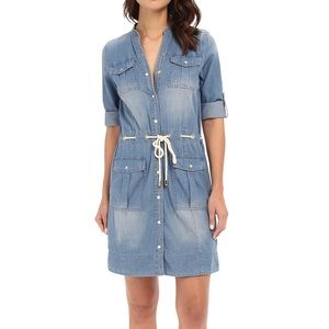 Michael Kors Denim Shirt Dress